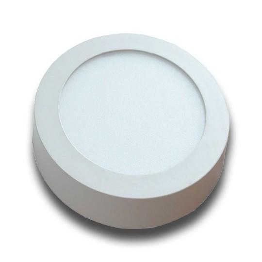 Plafón superficie LED 18W redondo blanco