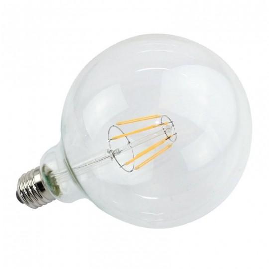 Bombilla Filamento LED E27 6W 2700K G95
