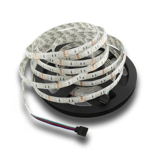 Tira LED SMD 5050 DC12V RGB IP20