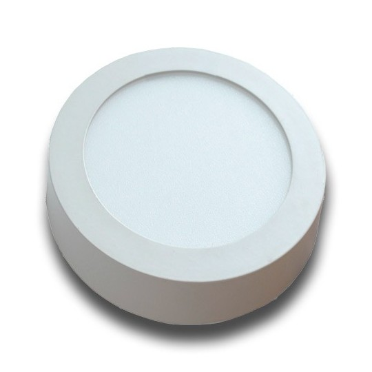 Plafón superficie LED 12W redondo blanco