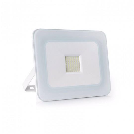 Proyector LED exterior 50W IP65 SLIM-DESIGN BLANCO
