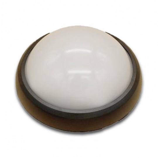 Plafón Superficie LED 8W Negro IP54 uso exterior 4200K/6000K