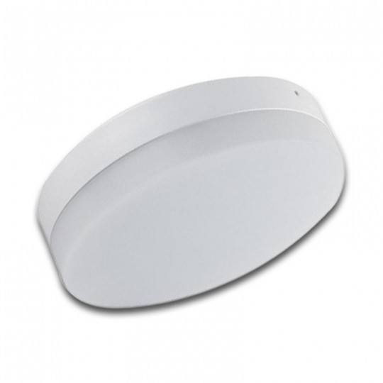 Plafón LED superficie 18W redondo blanco Wideangle