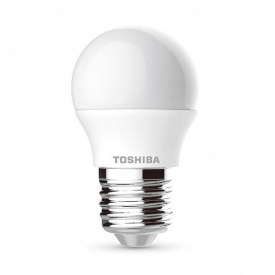 PACK Bombillas LED Toshiba E27 5W G45 x 3 uds