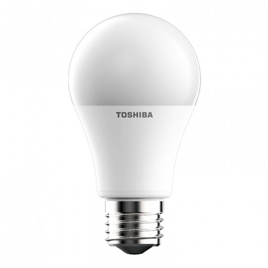 Bombilla LED Toshiba E27 8.5W A60 4500K