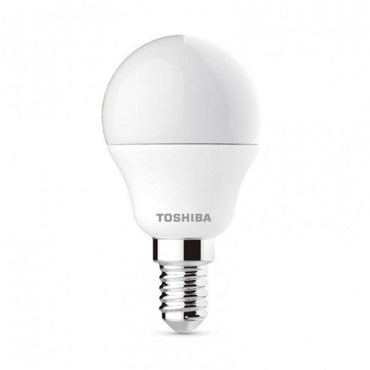 Bombilla LED Toshiba E14 5W 4000K G45