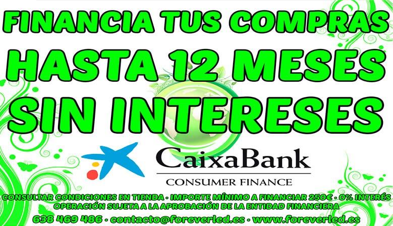 Financiación sin intereses en Foreverled
