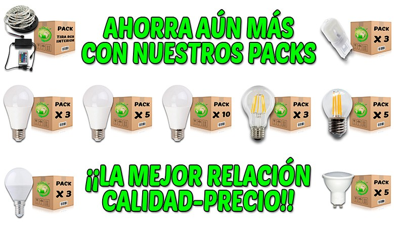 PACKS PRODUCTOS FOREVERLED